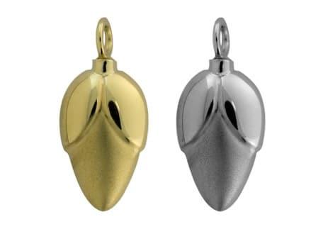 Ashanger Bloemknop, zilver