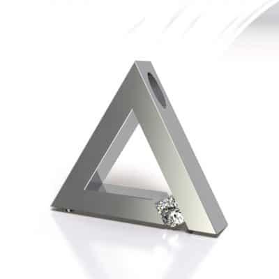 Ashanger driehoek, zilver