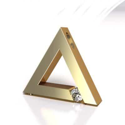 Ashanger driehoek, geelgoud