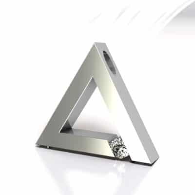 Ashanger driehoek, witgoud