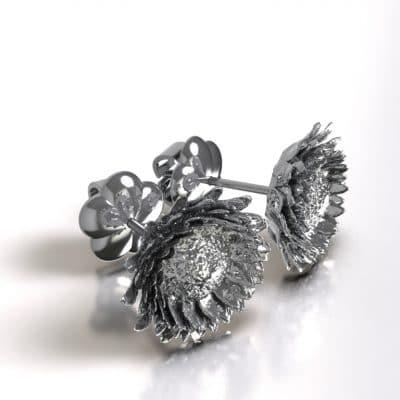 Asoorbellen Zonnebloem, zilver