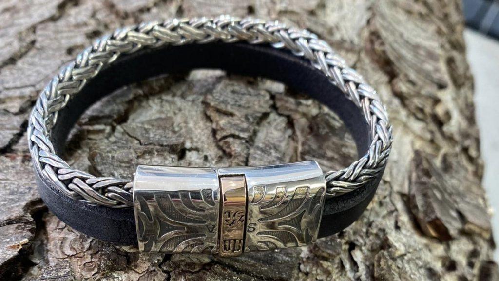 Memorie Sieraden moeilijke sieraden armband met sluiting