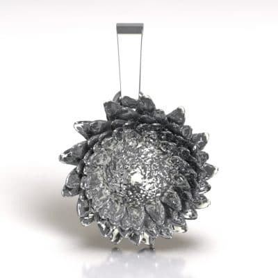Ashanger Zonnebloem, zilver