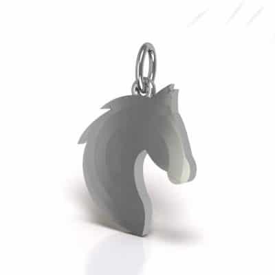 Ashanger Paard, zilver