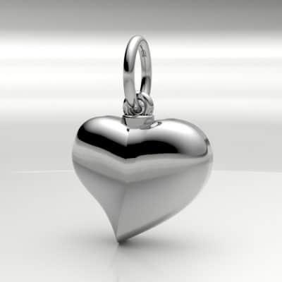 Ashanger hart klein, witgoud