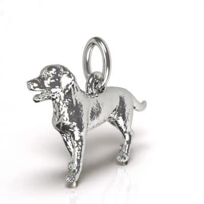 Ashanger Hond 3D, witgoud
